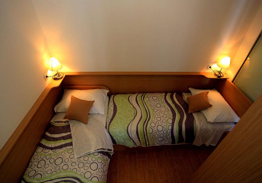 four-bedded room razanac